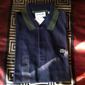 Lacoste small slim fit polo